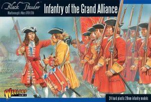 Warlord Games Black Powder  Marlborough's Wars Marlborough's Wars: Infantry of the Grand Alliance - 302015002 - 5060393704638