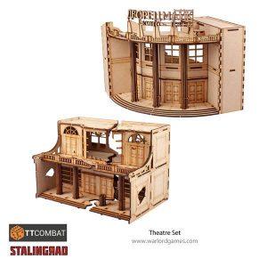 Warlord Games   World War Scenics Stalingrad Theatre - TT_Stalin05 -