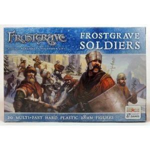 North Star Frostgrave  Frostgrave Frostgrave Soldiers - FGVP01 - 9781472816245