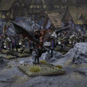 Mantic Kings of War  Undead Undead Vampire on Undead Pegasus - MGKWU202 - 5060469661643