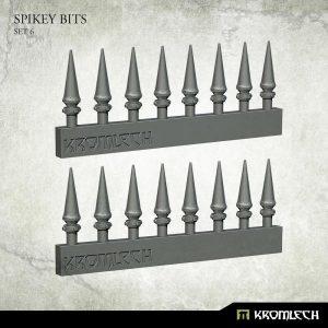 Kromlech   Heretic Legionary Conversion Parts Spikey Bits Set 6 (16) - KRVB072 - 5902216118454