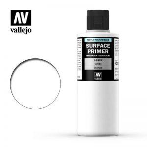 Vallejo   Model Air Primers Primer: White 200ml - VAL74600 - 8429551746007