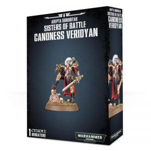Games Workshop (Direct) Warhammer 40,000  40k Direct Orders Adepta Sororitas Canoness Veridyan - 99810108001 - 5011921082896