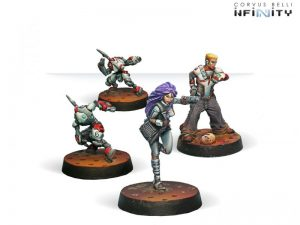 Corvus Belli Infinity  Nomads Nomads Support Pack - 280554-0354 - 2805540003546