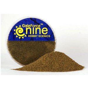 Gale Force Nine   Sand & Flock Hobby Round: Dirt Flock Foundation - GFS008 - 8780540006244