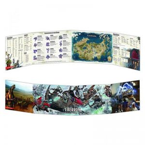 Gale Force Nine Dungeons & Dragons  D&D Extras D&D: Eberron Dungeon Master Screen - GFN73713 - 9420020248847