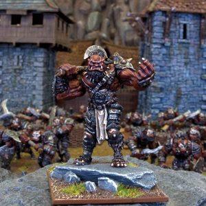 Mantic Kings of War  Ogres Ogre Hero Grokagamok - MGKWH70-1 - 5060208864885