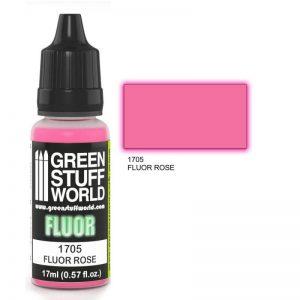 Green Stuff World   Fluorescent Paints Fluor Paint ROSE - 8436574500646ES - 8436574500646