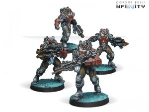 Corvus Belli Infinity  Combined Army Yaogat Strike Infantry - 280668-0526 - 2806680005261