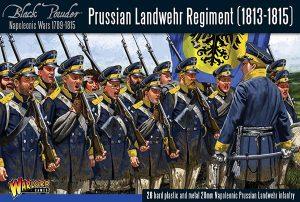 Warlord Games Black Powder  Prussians (Napoleonic) Prussian Landwehr regiment 1813-1815 - 302012501 - 5060393707929