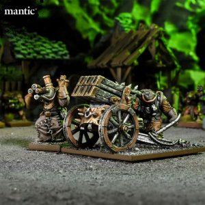 Mantic Kings of War  Ratkin Ratkin Shredder Warengine - MGKWRK403 - 5060469666884