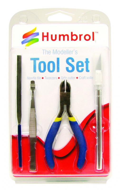 Humbrol   Humbrol Glue & Tools The Kit Modeller's Tool Set Small - AG9150 - 5010279391506
