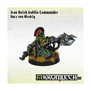 Kromlech   Orc Model Kits Iron Reich Goblin Commander Kurz Von Niedrig - KRM082 - 5902216113237