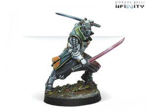 Corvus Belli Infinity  Yu Jing Yu Jing Shikami  (Combi Rifle) - 280394-0670 - 2803940006709