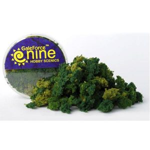Gale Force Nine   Lichen & Foliage Hobby Round: Summer 3 Color Clump Foliage Mix - GFS013 - 8780540003274