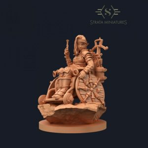 Strata Miniatures   SALE! Dungeons & Diversity: Elf Rogue - SM-KC-0069 - 745125526232