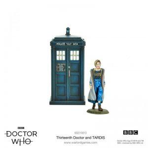 Warlord Games Doctor Who  Doctor Who Doctor Who: The 13th Doctor & TARDIS - 602210013 - 5060572501690