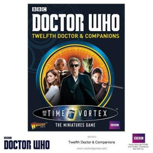 Warlord Games Doctor Who  Doctor Who Doctor Who: 12th Doctor and Companions - 602210012 - 5060393704485