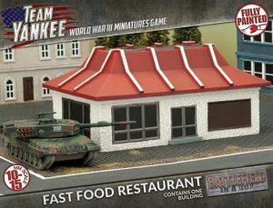 Gale Force Nine   Battlefield in a Box Team Yankee: Fast Food Restaurant - BB207 - 9420020231375