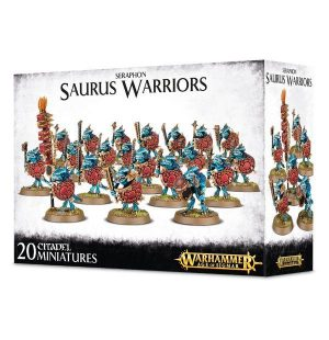 Games Workshop (Direct) Age of Sigmar  Seraphon Seraphon Saurus Warriors - 99120208019 - 5011921066353