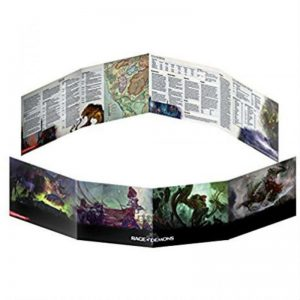 Gale Force Nine Dungeons & Dragons  D&D Extras D&D: Out of the Abyss Dungeon Master Screen - GFN73704 - 9420020229402