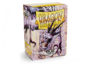 Dragon Shield   Dragon Shield Dragon Shield Sleeves Matte Lilac (100) - DS100ML - 5706569110345
