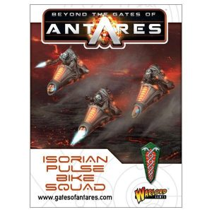 Warlord Games Beyond the Gates of Antares  SALE! Isorian Pulse Bike Squad - 502416002 - 5060393703952