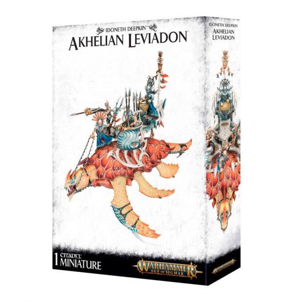 Games Workshop Age of Sigmar  Idoneth Deepkin Idoneth Deepkin Akhelian Leviadon - 99120219009 - 5011921097531
