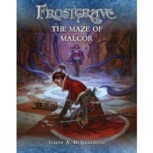 North Star Frostgrave  Frostgrave Frostgrave Supplement: The Maze of Malcor - BP1635 - 9781472824011
