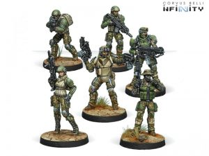 Corvus Belli Infinity  Ariadna USAriadna Ranger Force (Sectorial Starter Pack) - 280175-0600 - 2801750006001