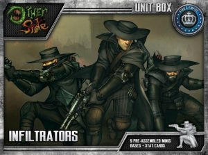 Wyrd The Other Side  King's Empire Infiltrators - WYR40102 - 812152030053