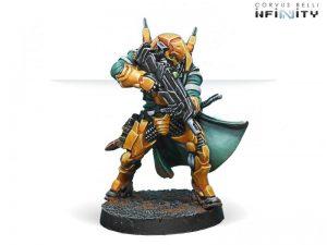 Corvus Belli Infinity  Yu Jing Yu Jing Hsien Warriors (MULTI Rifle) - 280389-0623 - 2803890006231