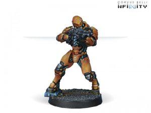 Corvus Belli Infinity  Yu Jing Yu Jing Zuyong Invincibles, Terracotta Soldiers (HMG) - 280370-0482 - 2803700004822