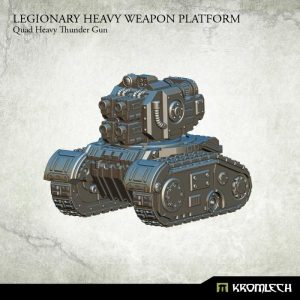 Kromlech   Legionary Model Kits Legionary Heavy Weapon Platform: Quad Heavy Thunder Gun (1) - KRM111 - 5902216114401