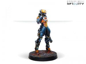 Corvus Belli Infinity  Yu Jing Daoying Operative Control Unit (Hacker) - 281305-0760 - 2813050007602