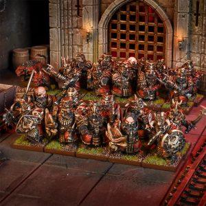 Mantic Kings of War  Abyssal Dwarves Abyssal Dwarf Blacksouls Regiment - MGKWK302 - 5060469665207