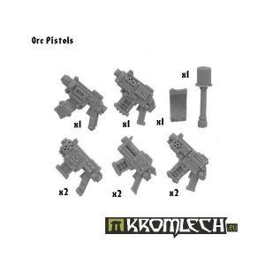 Kromlech   Orc Conversion Parts Orc Pistols (8+ grenade and shoulder pad) - KRCB040 - 5902216110380