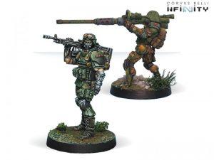Corvus Belli Infinity  Ariadna Tankhunters (AP HMG, Autocannon) - 280199-0727 - 2801990007271