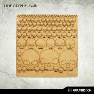 Kromlech   Modelling Extras HDF Glyphs: Skulls - KRMA043 - 5902216115064
