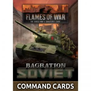 Battlefront Flames of War  SALE! Bagration: Soviet Command Cards - FW266C - 9420020251649