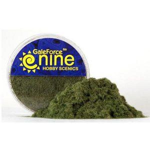 Gale Force Nine   Sand & Flock Hobby Round: Dark Green Static Grass - GFS014 - 8780540006480