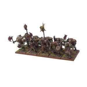 Mantic Kings of War  Orcs Orc Morax Troop - MGKWO12-1 - 5060208863147