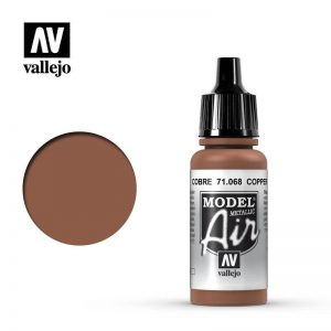 Vallejo   Model Air Model Air: Copper Metallic - VAL068 - 8429551710688
