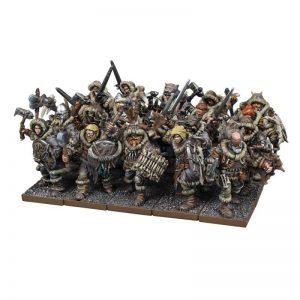 Mantic Kings of War  Northern Alliance Northern Alliance Clansman Regiment - MGKWL301 - 5060469664828