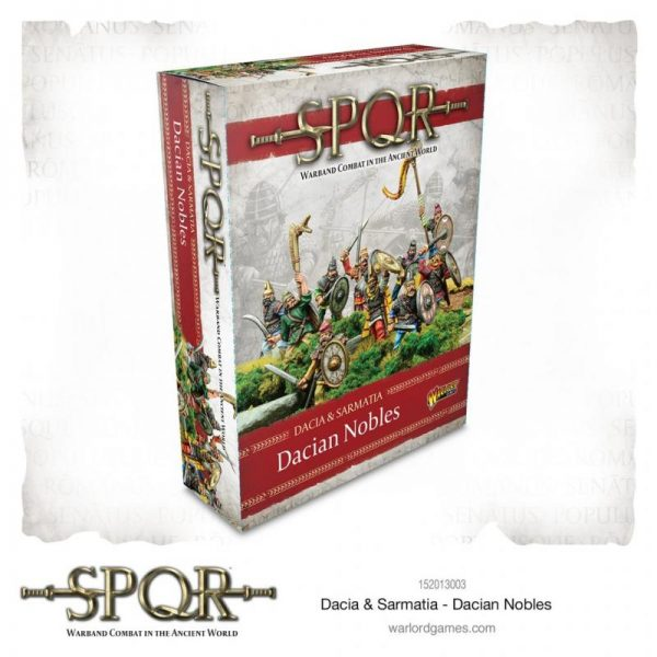 Warlord Games SPQR  SPQR SPQR: Dacia and Sarmartia Dacian Nobles - 152013003 - 5060572505476