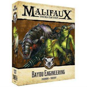 Wyrd Malifaux  Bayou Bayou Engineering - WYR23613 - 812152031678
