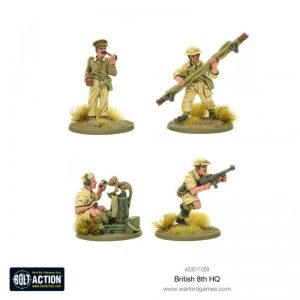 Warlord Games Bolt Action  Great Britain (BA) 8th Army HQ - 403011009 - 5060572501003