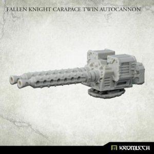 Kromlech   Vehicles & Vehicle Parts Fallen Knight Carapace Twin Autocannon (1) - KRVB099 - 5902216119895