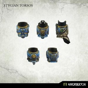 Kromlech   Heretic Legionary Conversion Parts Stygian Torsos (5) - KRCB148 - 5902216113336
