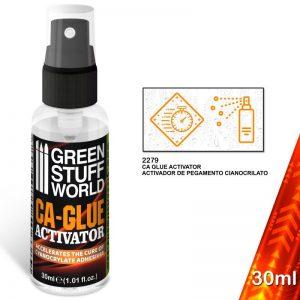 Green Stuff World   Glue CA-Glue Activator - Cyanoacrylate Accelerator - 8436574506389ES - 8436574506389